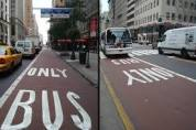 bus only lanes