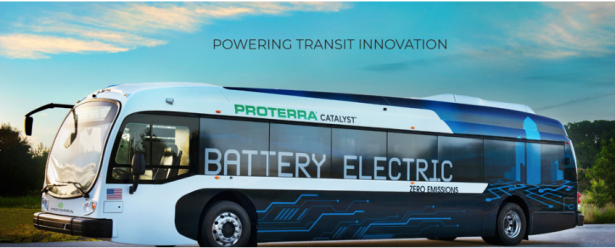 proterra all battery electric bus